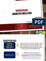Refreshing Diabetes Melitus