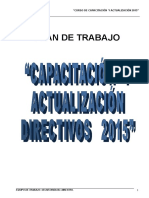 CAPACITACION_2015  DIRECTIVOS