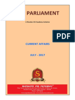 IAS Parliament July 2017