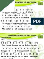 Ungkup 261 - Salamat Ungkup Ije Jari Trima