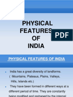 Physical Features of India E