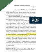 Doris-Rinaldi Invencoes Contemporaneas Proximidade Etica e Gozo