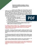 Ex. Sobre Implementação de Política Econ. COM RESPOSTAS