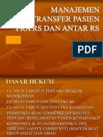 7. Manajemen Transfer Pasien