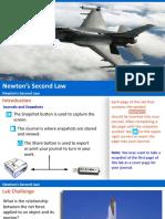 Newton's Second Law -PASCO