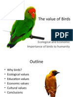 The Value of Birds