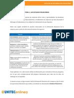 Lectura 1. Los Estados Financieros