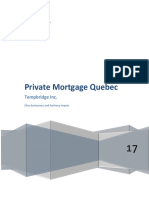 Private Mortgage Quebec