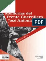 Memorias Del Frente Guerrillero Jose Antonio Paez