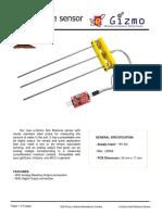 Soil Moisture Sensor Technical Manual