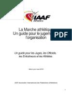 La Marche athlétique Un guide pour le jugement et l'organisation