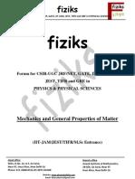 Mathemetical Physics Class Notes