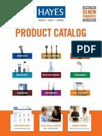 Hayes Product Catalog 2017