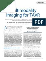 Multimodality Imaging TAVR