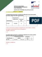 GABARITO - Atividade Análise Dos Sistemas de Medição - 05.06