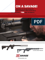 Savage Arms Precision Rebate
