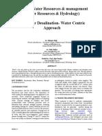 Sea-Water Desalination