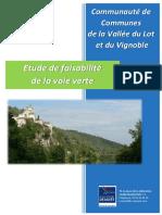Rapport - Étude faisabilite d'une voie verte