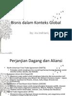 Bisnis Dalam Konteks Global