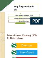 Company Registration in Malaysia