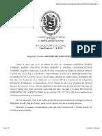20160301, TSJ-SC - Interpretación Artículos 136 222 2223 y 265 Constitucional