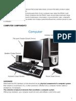 PC BASICS
