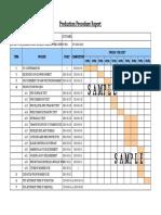 Production Procedure Report