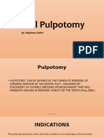 Vital Pulpotomy
