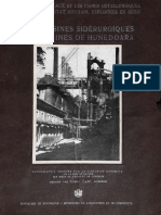 Mines, Iron Works and Domains of the Romanian Government at Hunedoara 1928