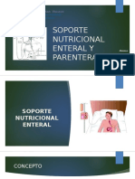 Soporte Enteral y Parenteral