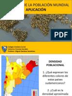 Aplicación Geografía de La Población Mundial