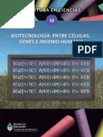Biotecnologia Entre Celulas Genes e Ingenio Humano