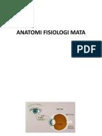 Anatomi Fisiologi Mata