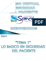 Curso Virtual de Seguridad del Paciente