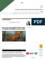 Sucesso de Uma Mulher Bonita Sempre é Atribuído à Facilidade Com Que Seduz - 12-12-2016 - Luiz Felipe Ponde - Colunistas - Folha de S