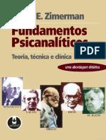David e Zimerman Fundamentos Psicanaliticos Teoria Tecnica Clinica