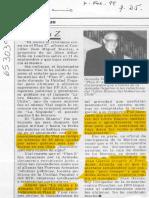 Plan Z, Vial, 7 de Febrero 1999. El Mercurio