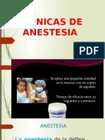 Técnicas de Anestesia 2 odontopediatria