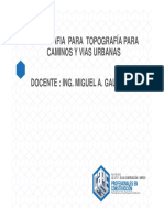 Clase I_topografia Para Caminos 2017_i