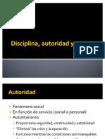 Disciplina Autoridad y Normas