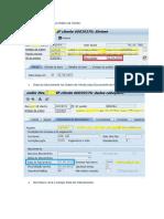 SAP Devolução Vendas Com NF Cliente