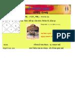 Panchang 2074 Chitra