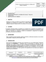 ECA-MC-C12 Criterios Para La Guía de Aplic de La Norma 17020 2012