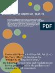 Administrative Order No. 2010-21(Panerio,Garcia) - Copy
