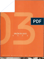 Catálogo Salón de Julio 2003 - 2004