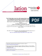 Part 9 Post Cardiac Arrest Care 2010 American Heart Association Guidelines