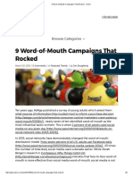 9 Word-Of-Mouth Campaigns That Rocked - Cision