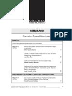 GACETA CONSTITUCIONAL - MAYO