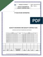 Quality Assurance Plan