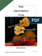 Gypsy Jazz Student Lesson Fast Improvisation Tools